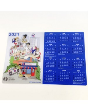 Custom Decorated Mouse Mat Calendars