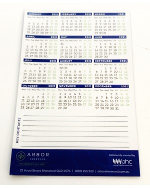Magnetic Logo Branded Calendars