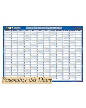 Yearly Planner 50 x 70cm