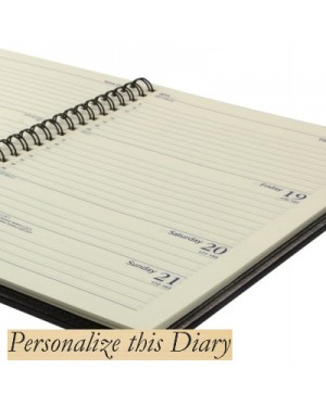 A5 Personalised Diaries Wiro