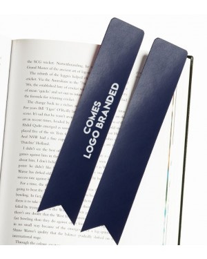 Authentic Leather Personalised Bookmarks