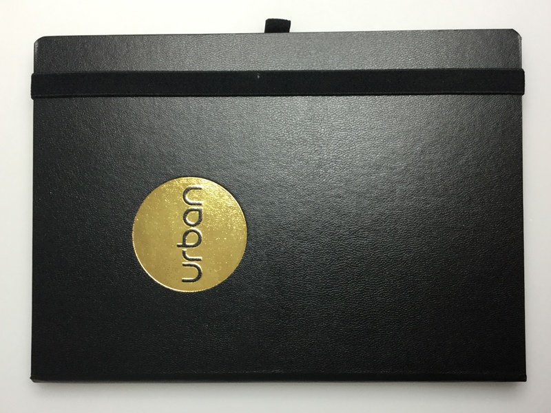 gold foiled promotional diaries